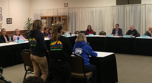 Siuslaw Chapter members testify before Oregon's Ocean Policy Advisory Council