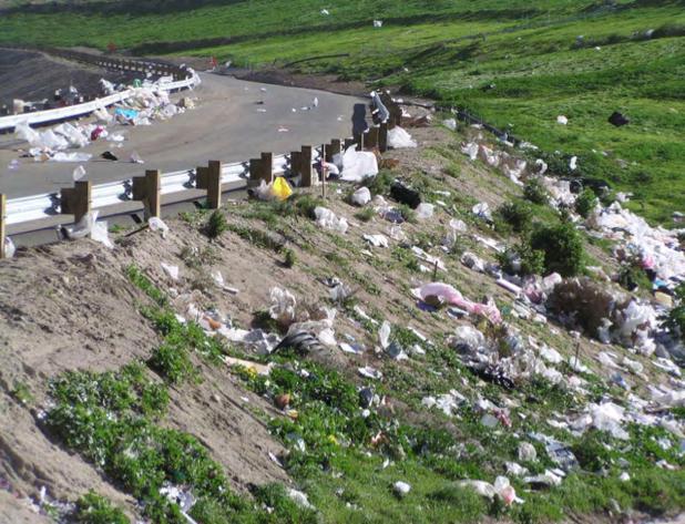 Plastic Bags In Landfills