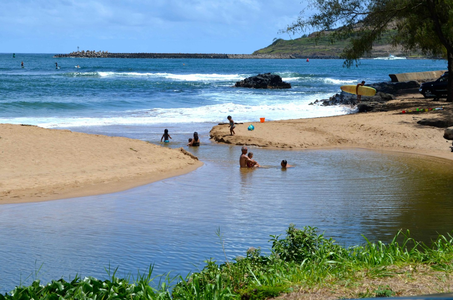 Hawaii  Shouldn't someone be warning the public of dangerous