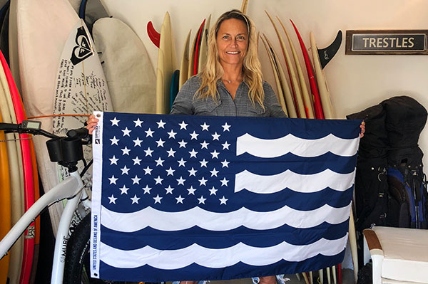 World Champion Surfer Lisa Andersen