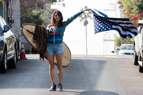 Actress and Environmentalist Mia Maestro